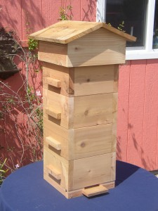 Warre hive complete